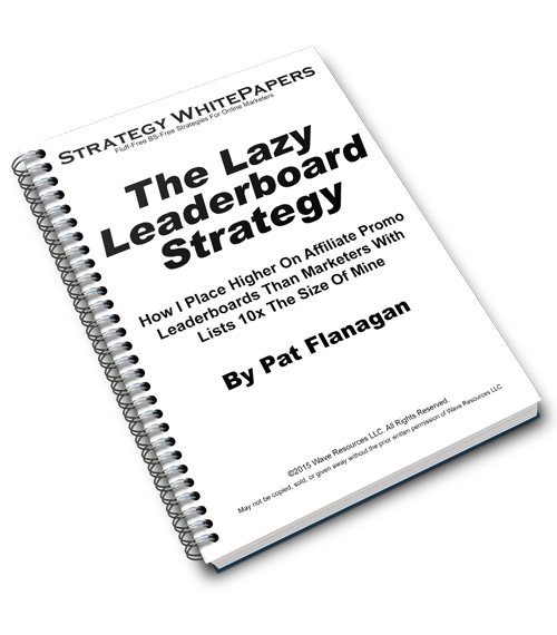 The Lazy Leaderboard Strategy